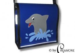 Kindergartentäschli Delphin