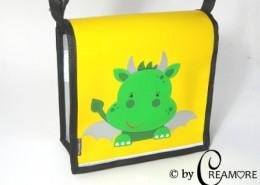 Kindergartentäschli Drachenbaby