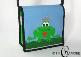 Kindergartentäschli Frosch