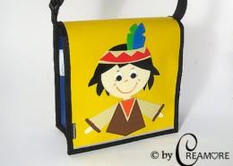 Kindergartentäschli Indianerbueb