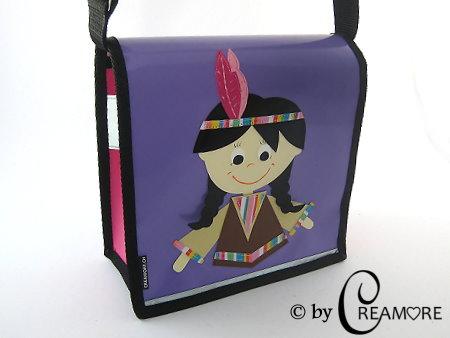 Kindergartentäschli Indianermeitli