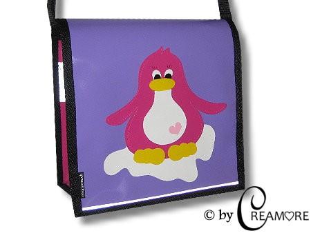 Kindergartentäschli Pinguin