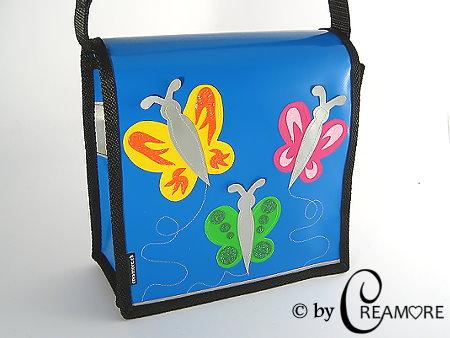 Kindergartentäschli 3 Schmetterlinge