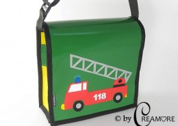 Kindergartentäschli Feuerwehrauto