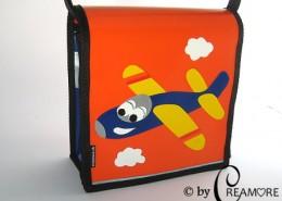 Kindergartentäschli Flugzeug