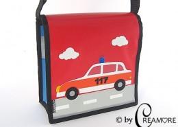 Kindergartentäschli Polizeiauto