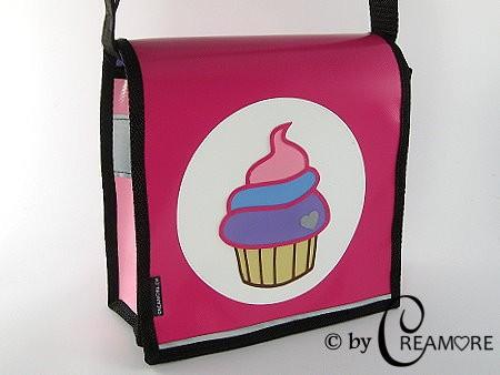 Kindergartentäschli Cupcake