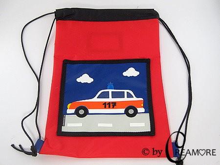 Turnsack Polizeiauto