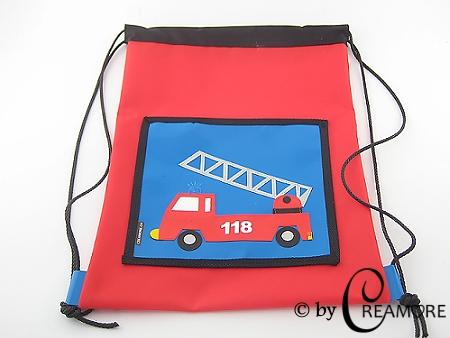 Turnsack Feuerwehrauto