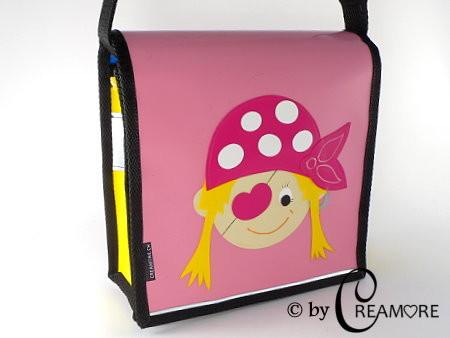 Kindergartentäschli Pirat Girl